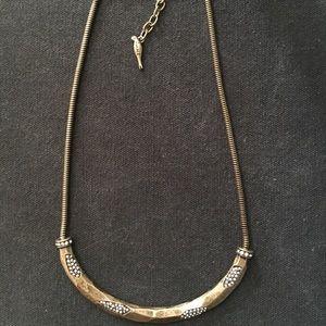 Chloe + Isabel Geovista Pave Collar Necklace